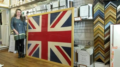 Framed Flags