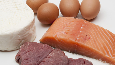 Salmon, eggs & cheese