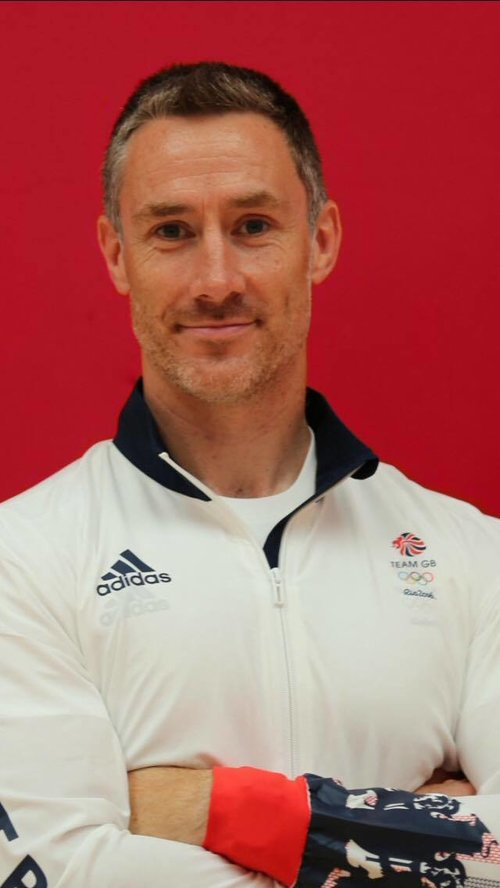 Rhys Shorney, B2R director in Rio with Team GB in 2016