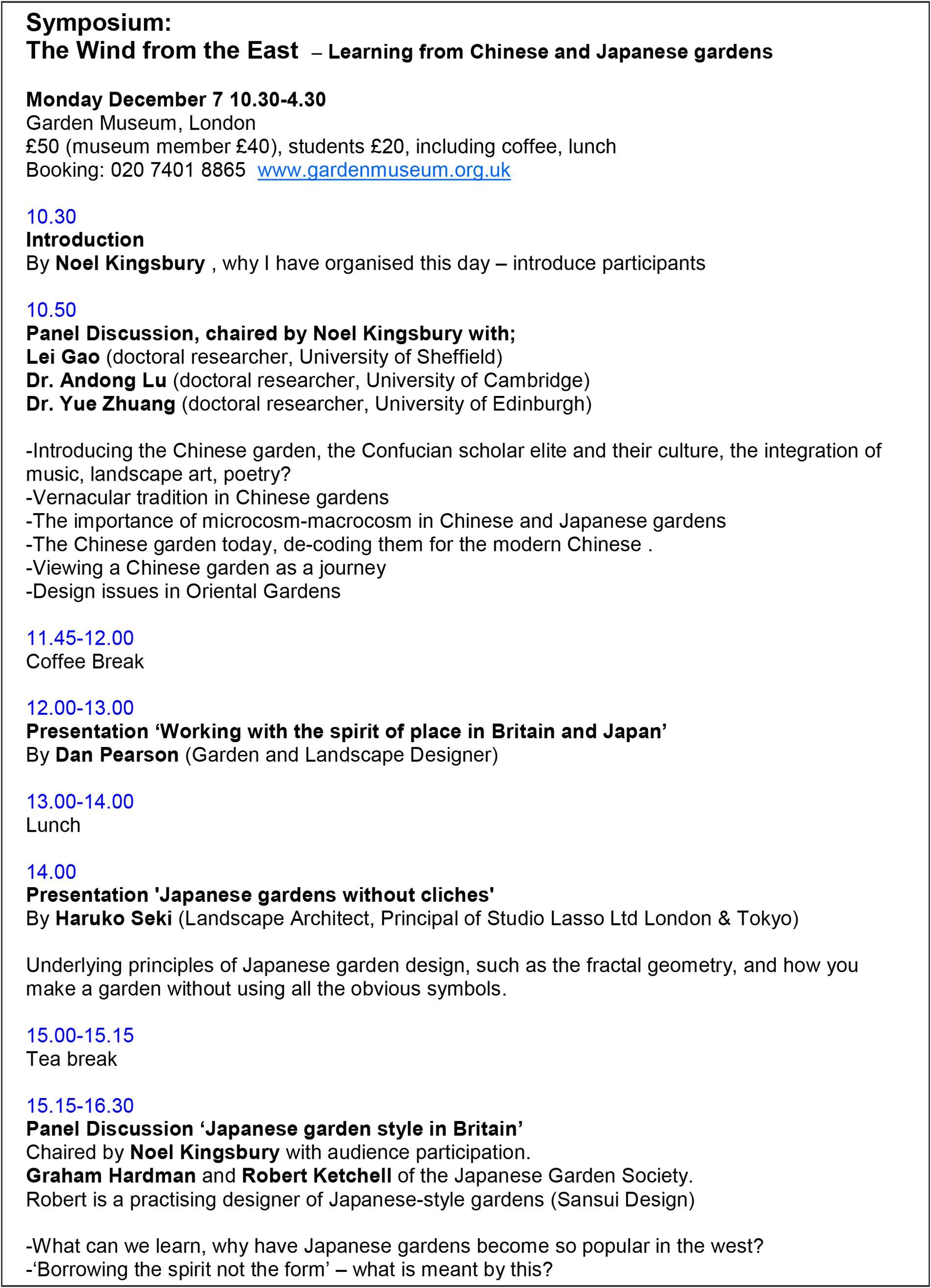 Symposium programme (Click to enlarge)