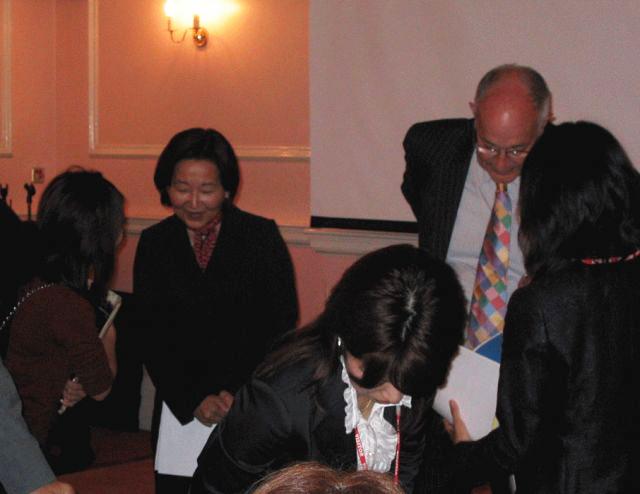 Talk Session @Embassy of Japan in the UK (September 2007)