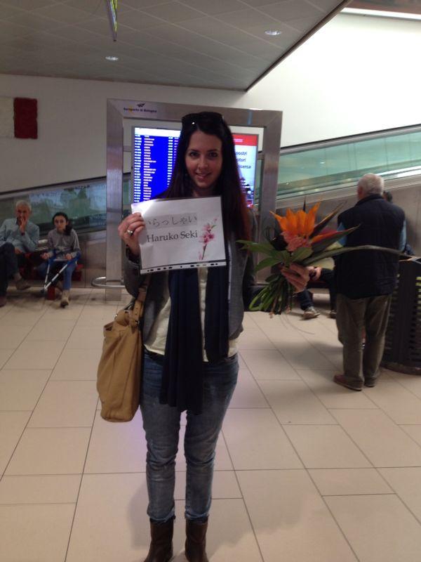 Meeting Francesca @Blogna Airport April 2014