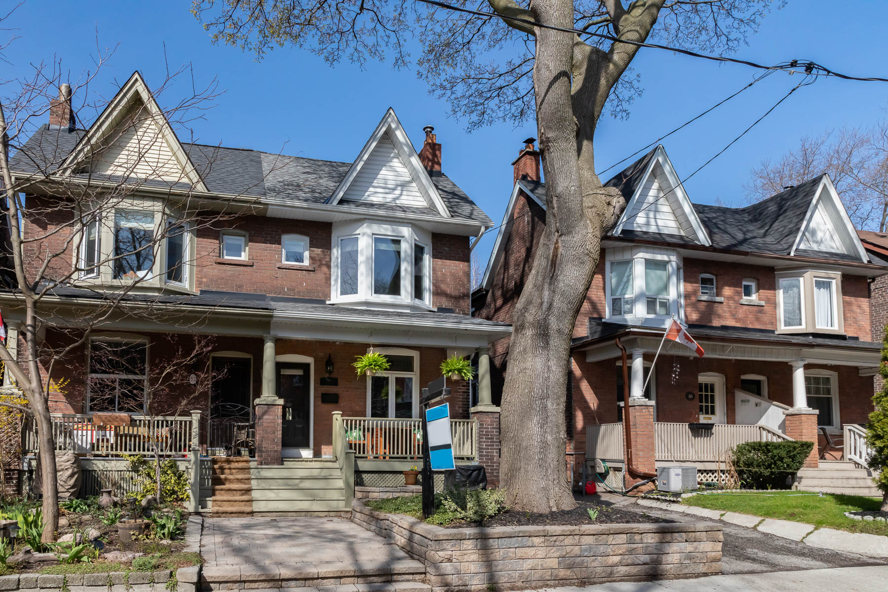 Be at home.In Riverdale.  - 123 Example St $1,195,000