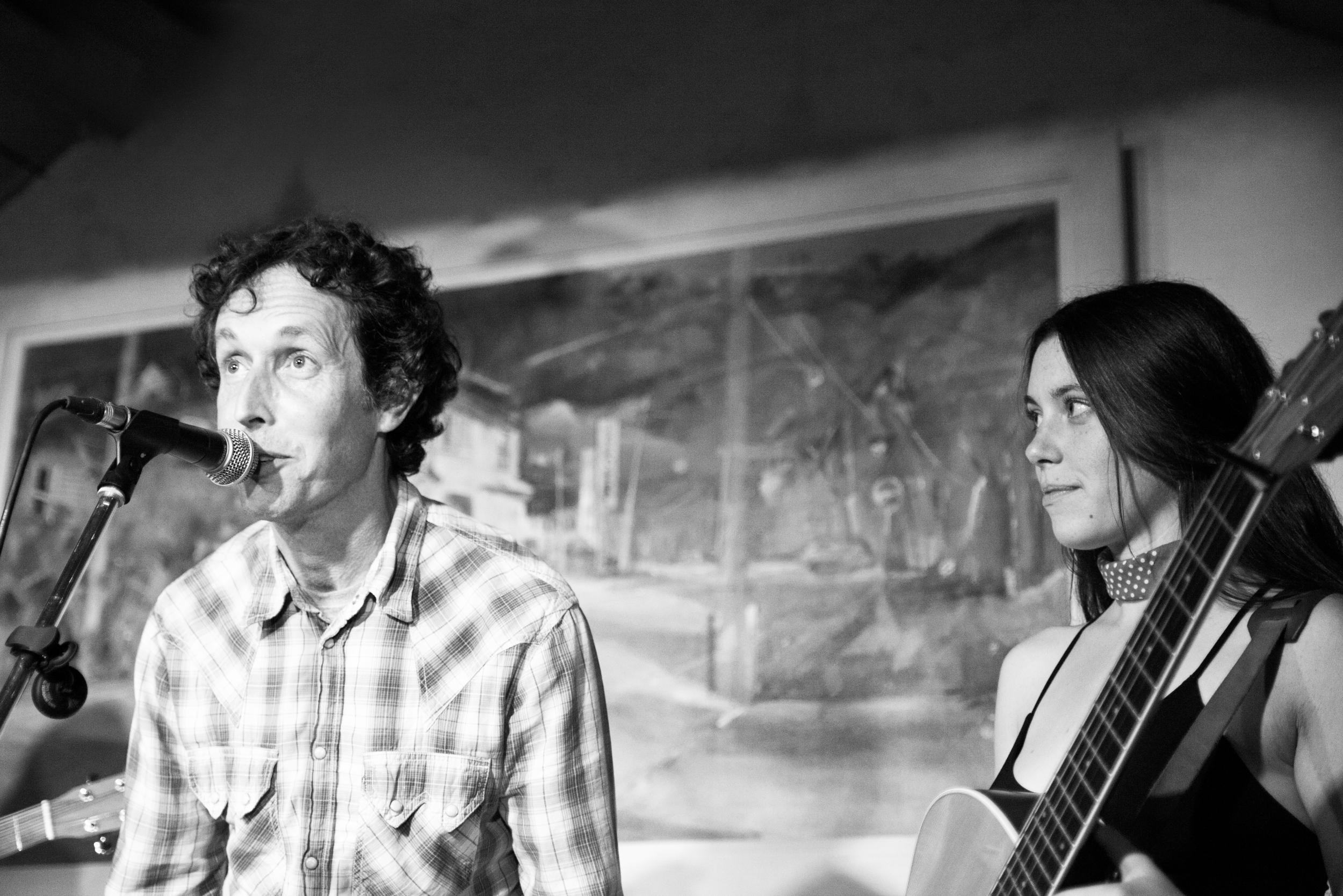 Twin Bandit and Sky Barkers at The Meadow, St Davids, Pembrokeshire, Wales. A Boia Gigs event.