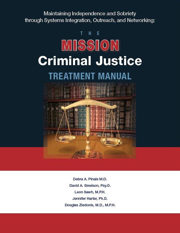 MISSION-Criminal Justice Treatment Manual