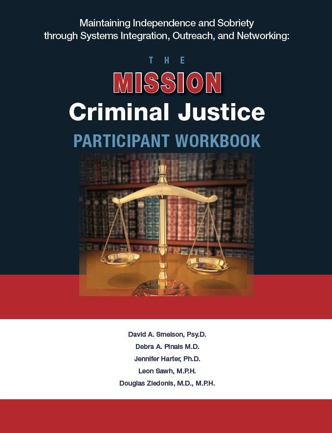 MISSION-Criminal Justice Participant Workbook