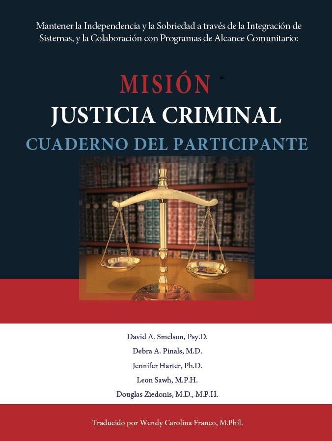 MISSION-Criminal Justice Participant Workbook (Spanish)