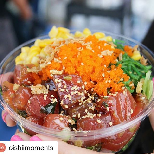 #repost @oishiimoments with @repostapp ... . . When you're missing Hawaii, @pokitimeau @pokitime satisfies . . #pokitimeau  #pokitime #foodoftheday #foodblogger #foodiegram #melbournefoodie #hawthorn #glenferrie #swinburne #comfortfood #hawaii #hawaiianstyle #hawaiianfood