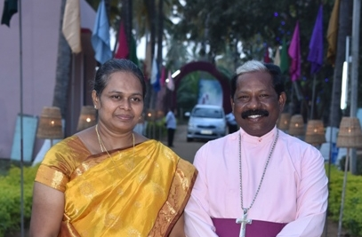 Archbishop Samuel and Sugantha