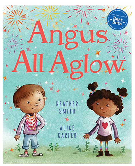 A gentle story of acceptance, generosity and friendship, Angus All Aglow reminds us that it only takes one kind gesture to restore your sparkle.   Angus All Aglow  was chosen as an Ontario Library Association Best Bet for 2018!