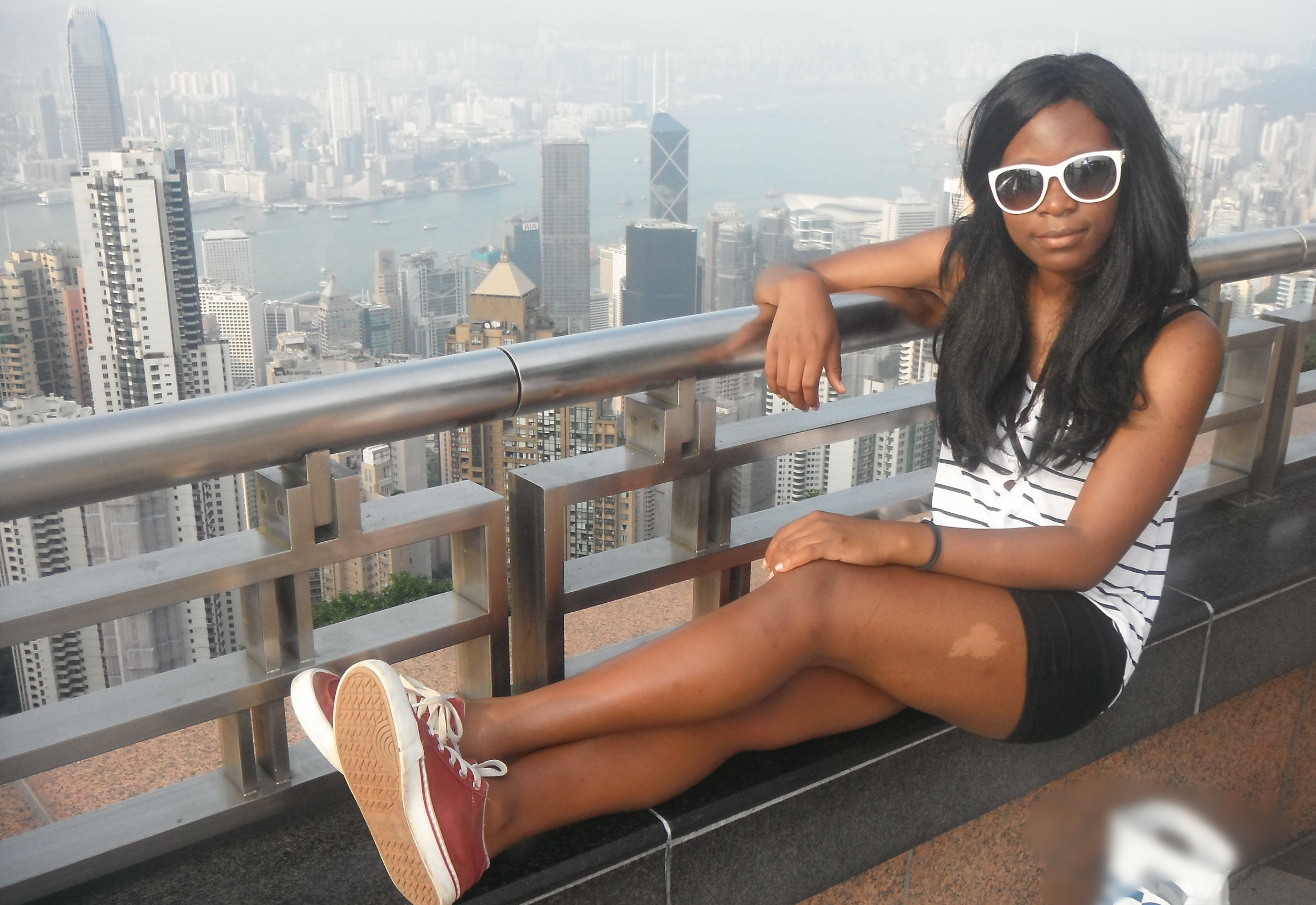 Me at Victoria Peak in 2012