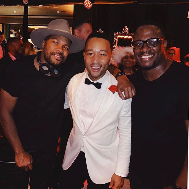 Last night deejayed with my brother @djdnice for @johnlegend's 40 birthday party. The vibe was amazing! One of the best birthday parties I've ever been to. 🔥🔥🔥