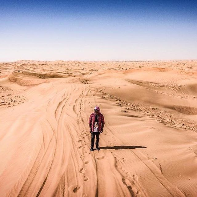 Looking forward to more random trips getting lost in the desert in Dubai this year. #djmos