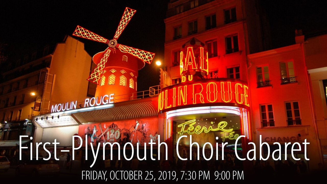 First-Plymouth Choir Cabaret