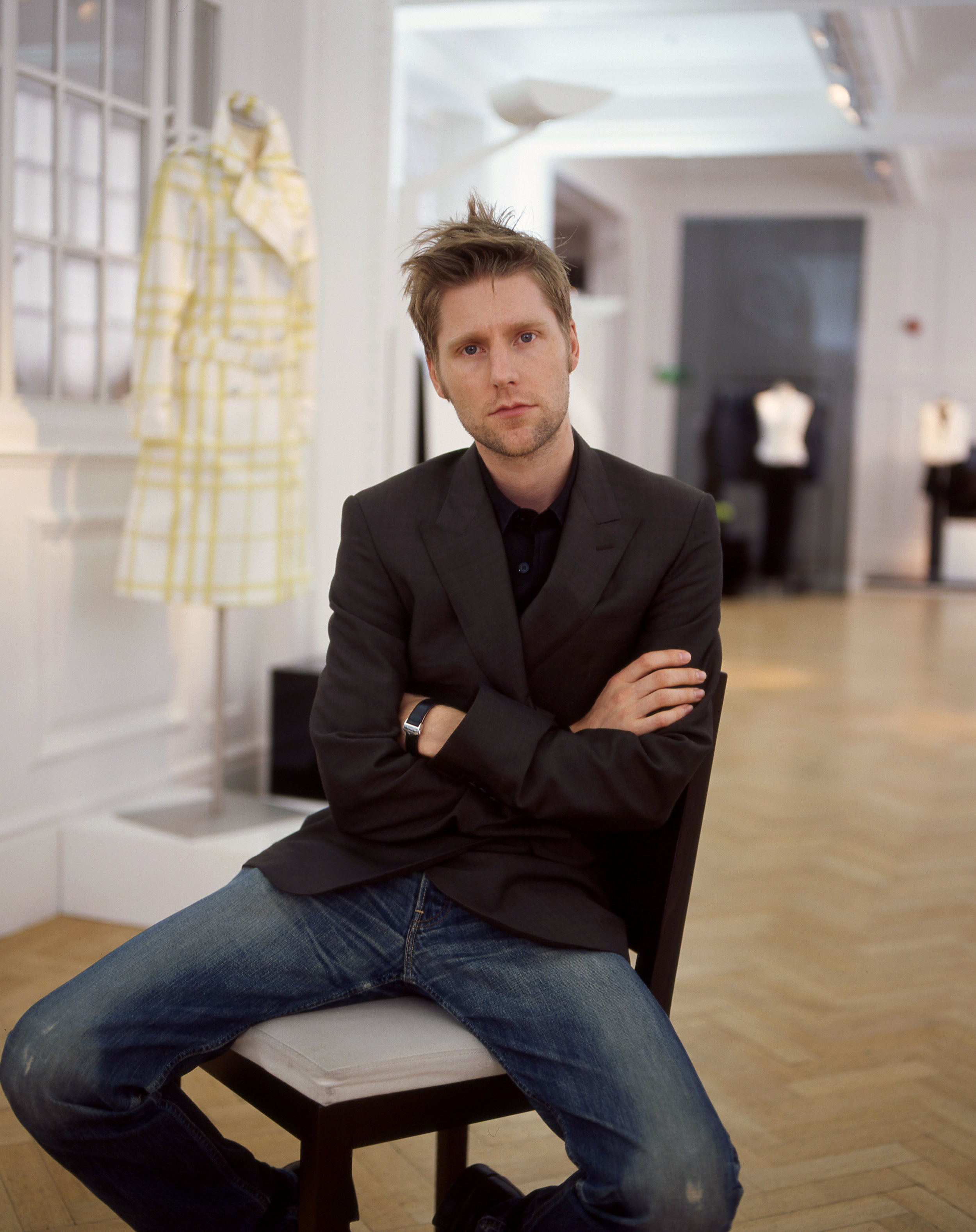 Christopher Bailey for Japanese Vogue.