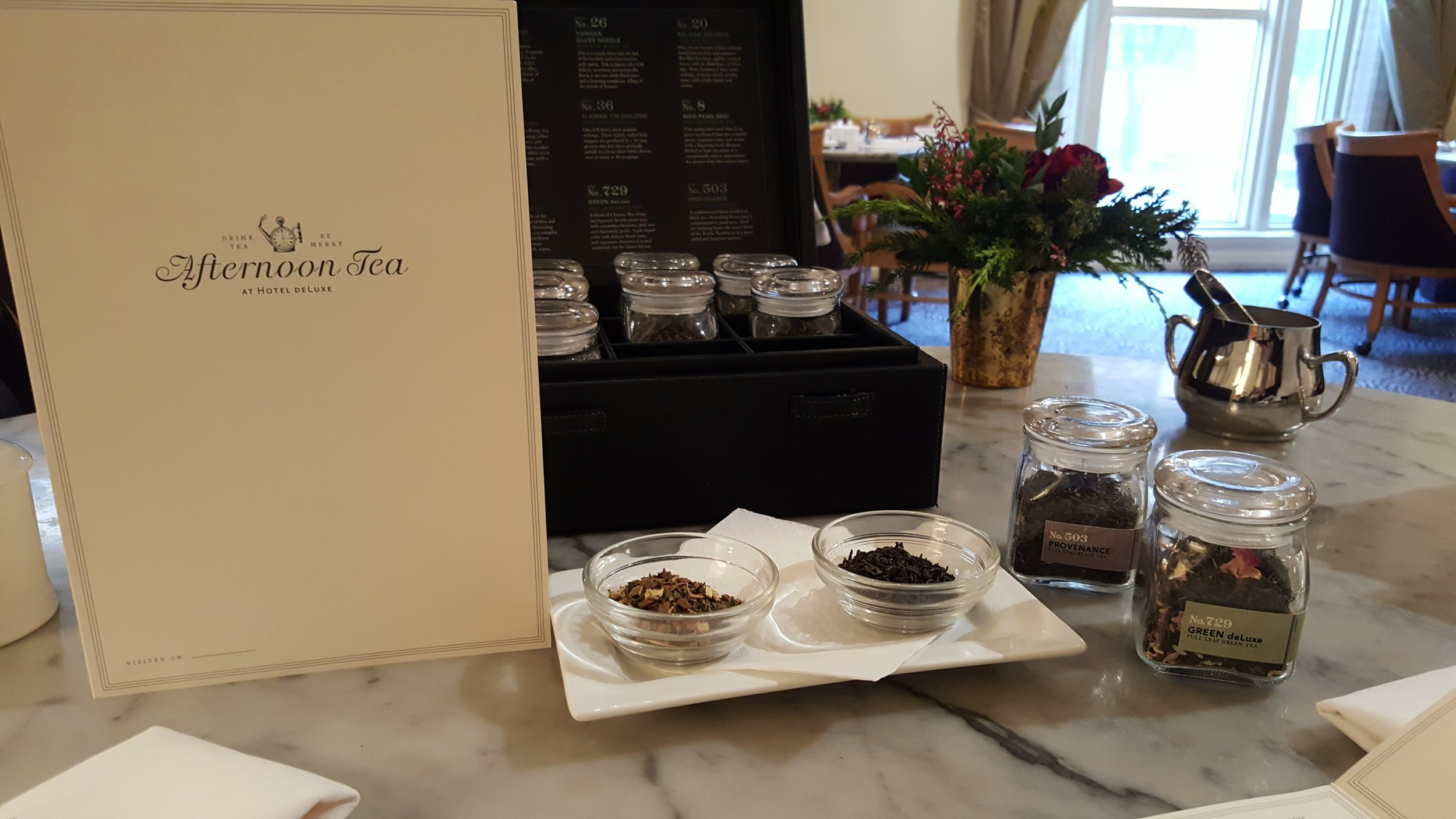 Afternoon Tea at Hotel deLuxe is a delight!