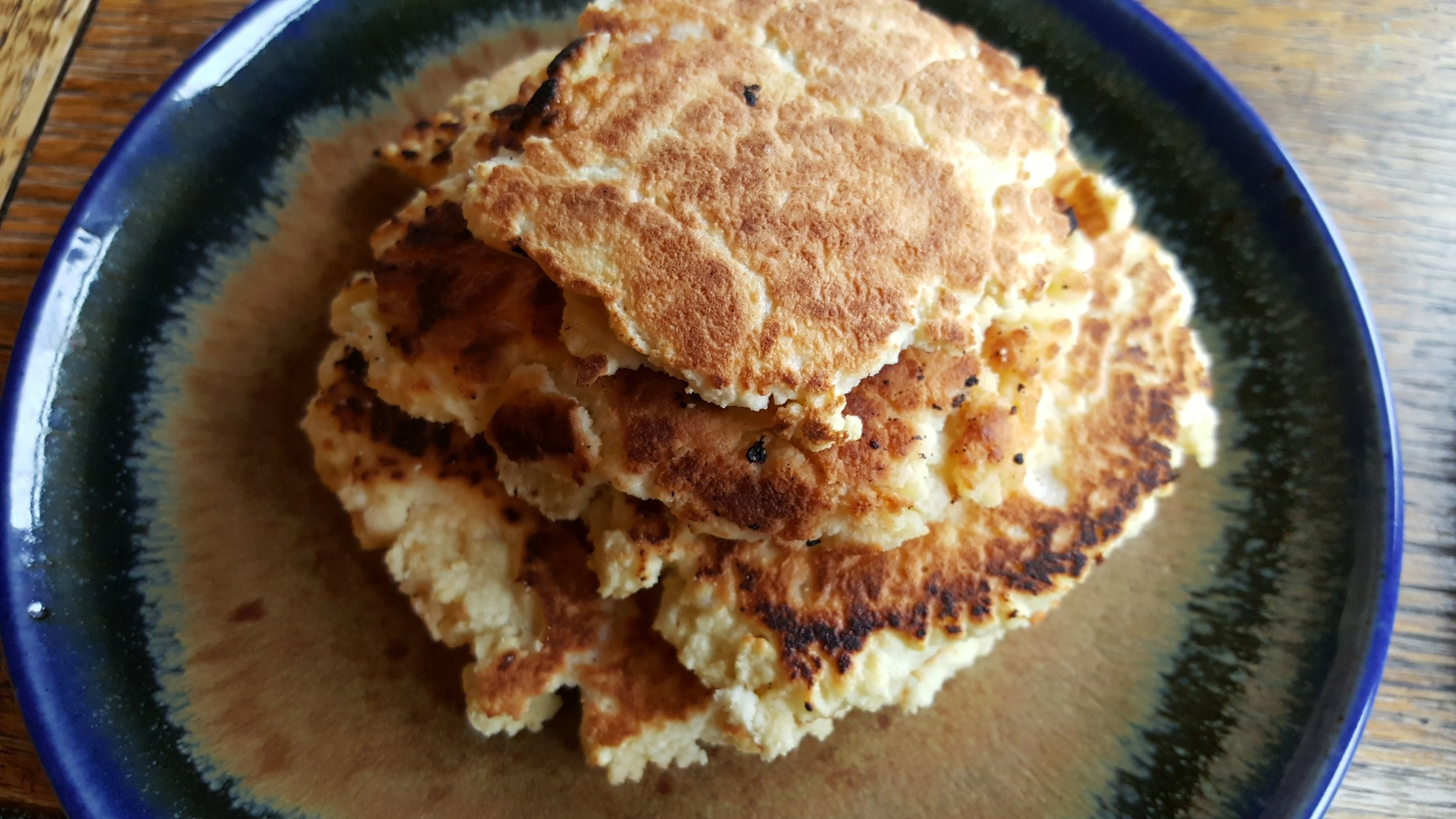 These grain-free pancakes are made of coconut flour and are the most fluffy delicious thing ever! Look for recipe in the upcoming Asbury Park Press article.