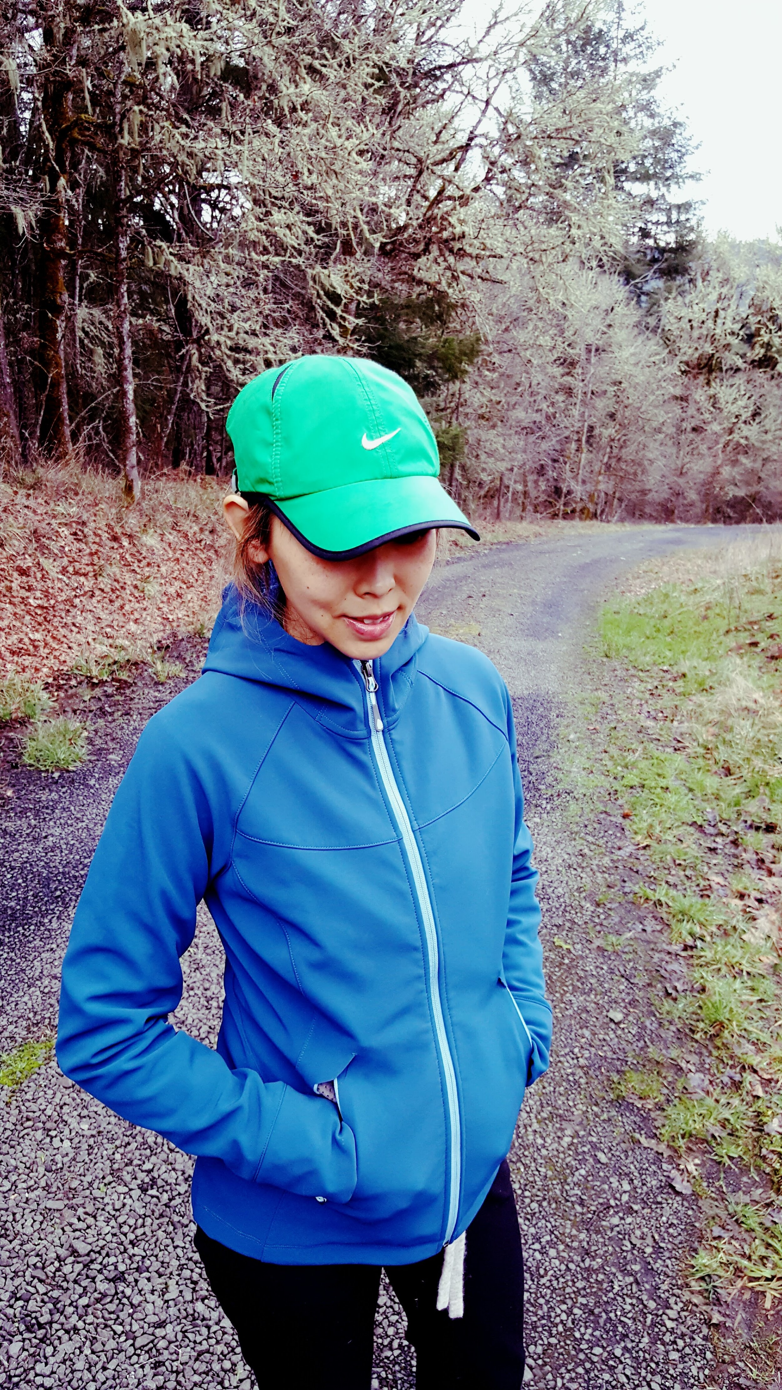 Vescent Jacket is waterproof and lined with microfleece to keep you warm!