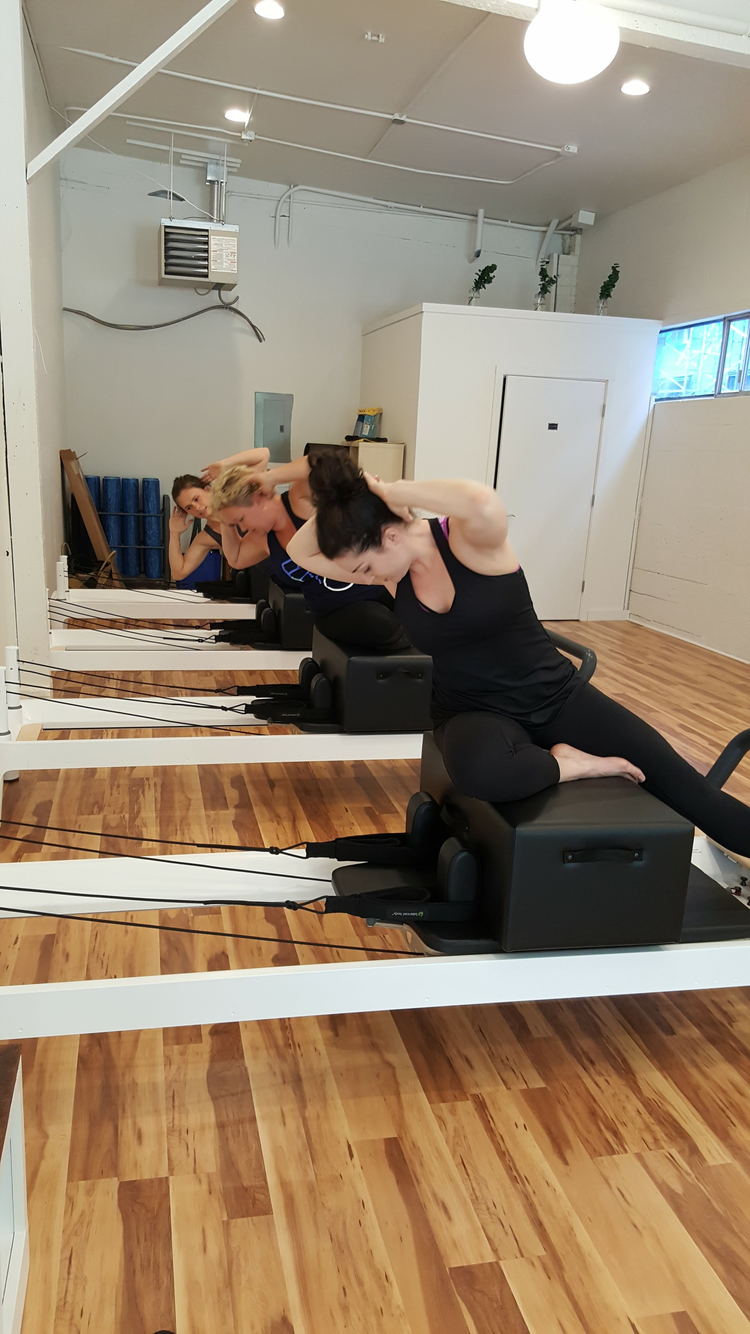 Since the newspaper article in The Gazette Times, we have been booked solid for Reformer classes and I am enjoying meeting all the new clients and building trust and relationships.