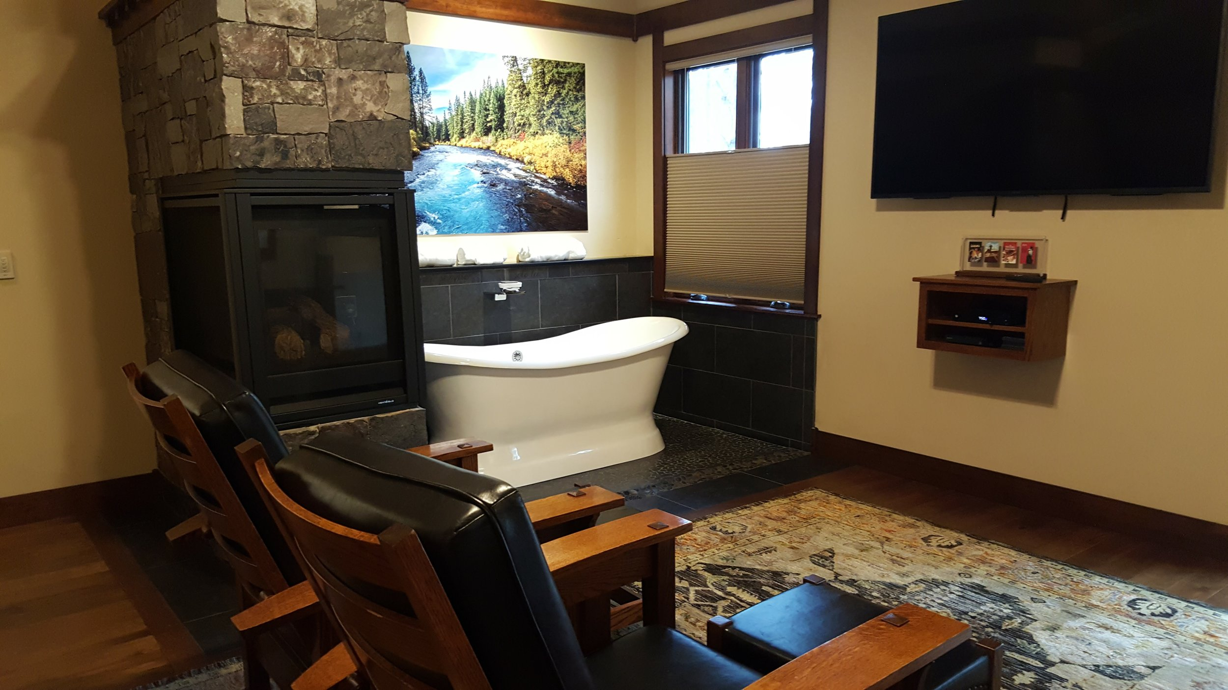 Serenity Cabins exude elegance and luxury @ 680 square feet.