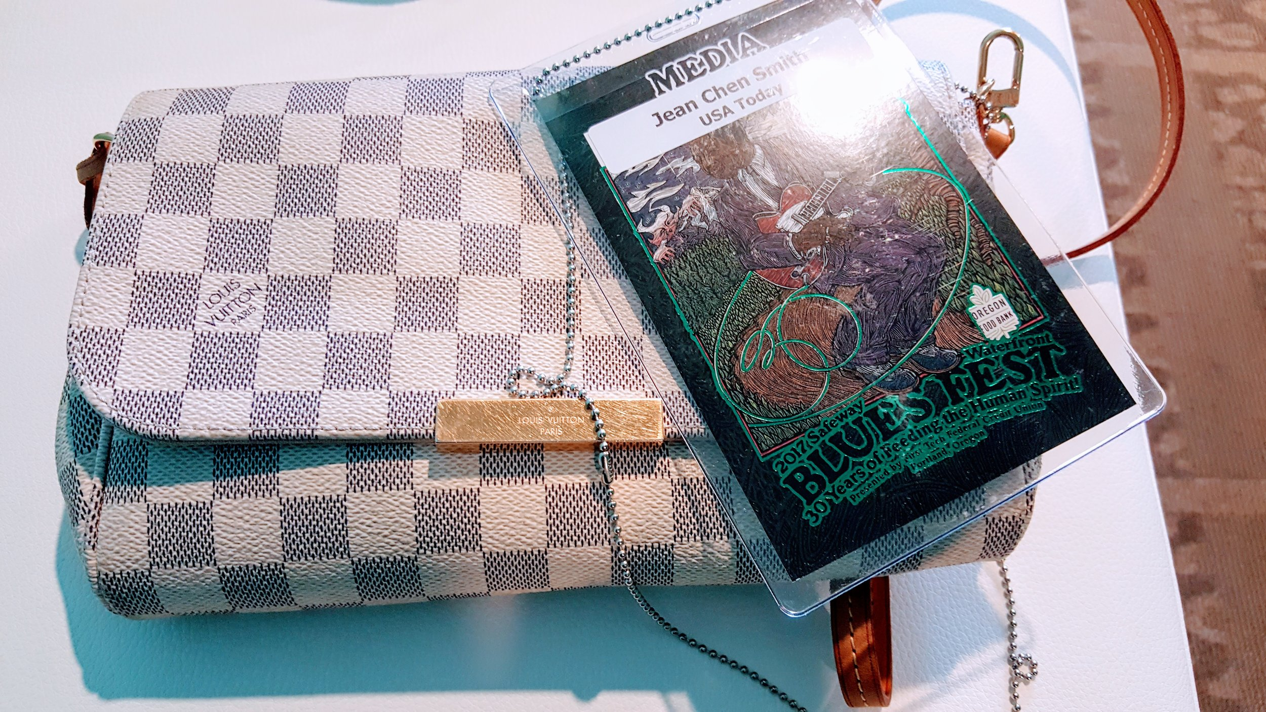 Media pass and my favorite LV
