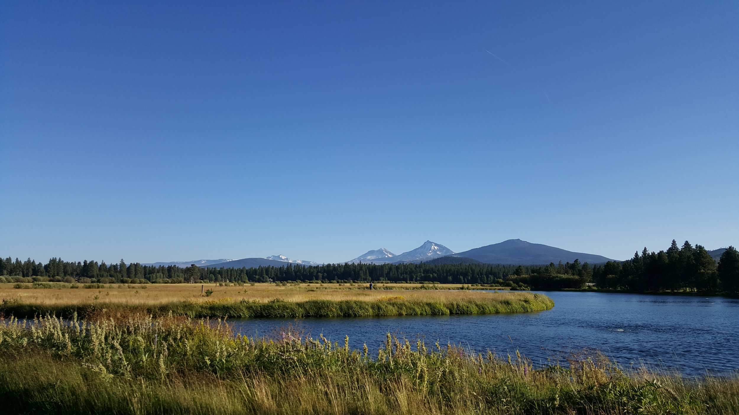 Black Butte Ranch - nature is all around, but there are fun activities for all - families and couples