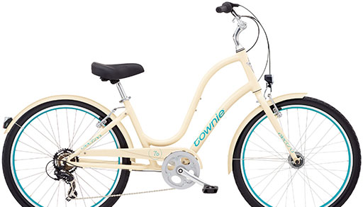 Electra Townie is the perfect run-around-town bike for riding to the farmer's market, grabbing a coffee or heading over to the Pilates studio.