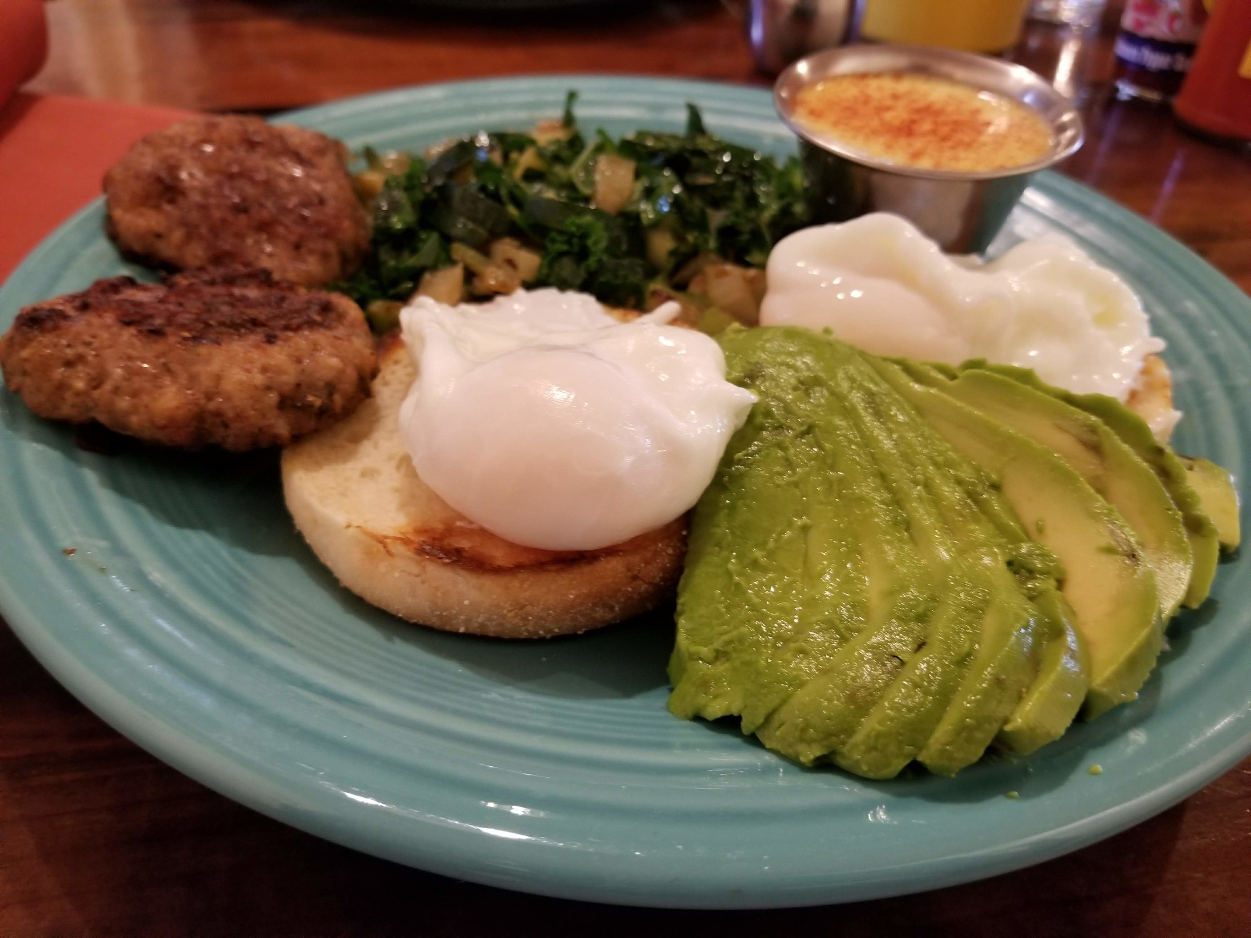 The Farmhouse Cafe dishes up fresh ingredients and uses local whenever possible