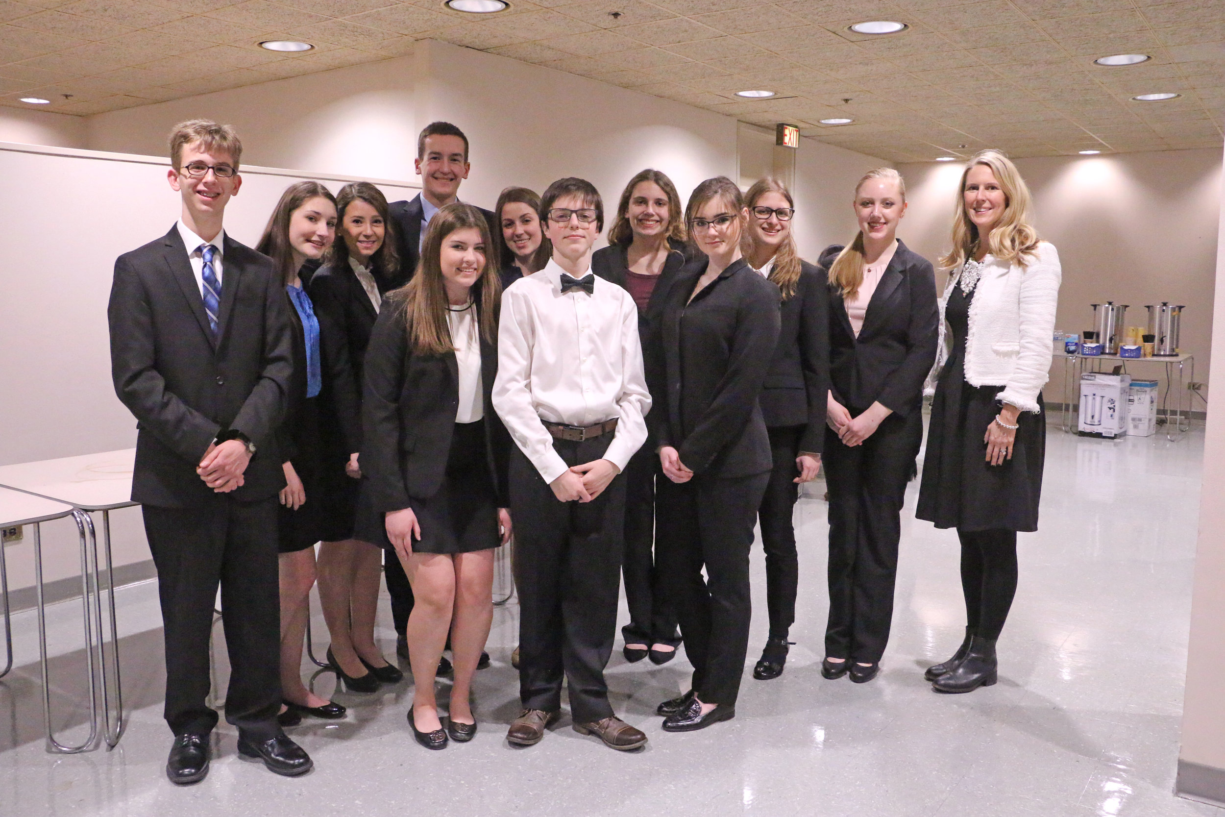 John Hersey High School participated in the February 2017 mock trial hosted by the Northwest Suburban Bar Association.