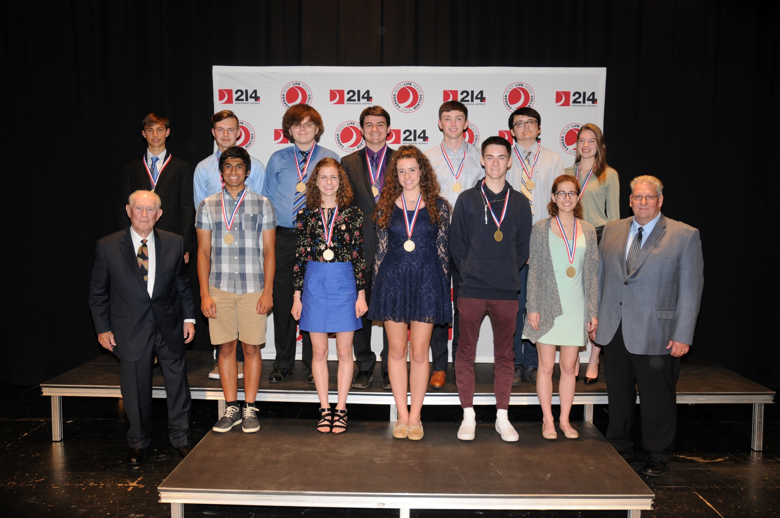 Every year, District 214 students who are National Merit Finalists receive an award named after Dr. Stephen Berry that recognizes their dedication to study, sacrifice of free time and acknowledges their future academic and leadership potential.