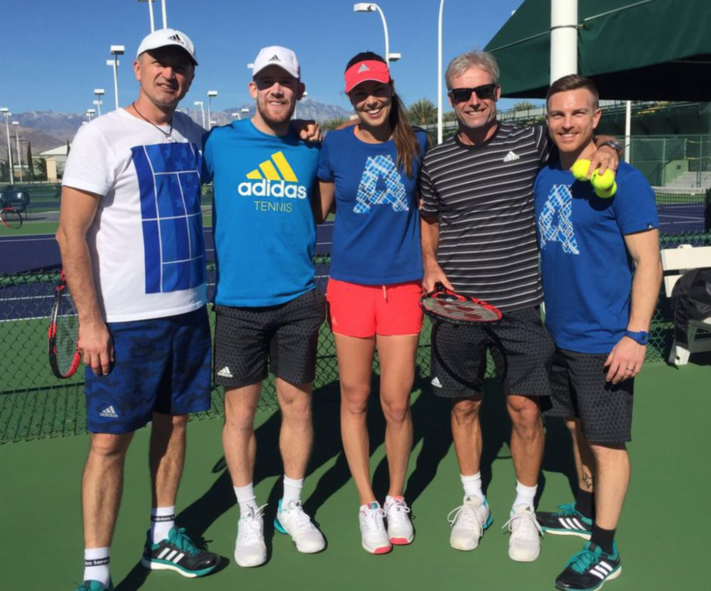 Team Ana at Indian Wells 2016