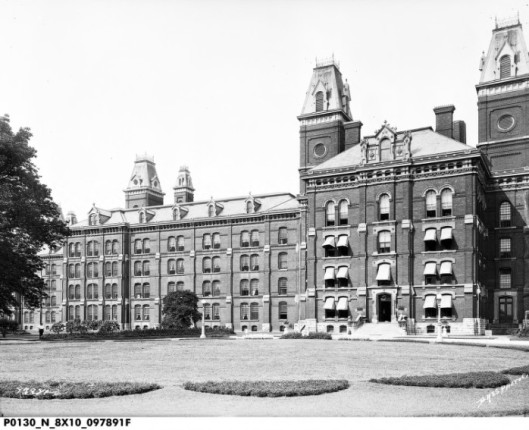 Seven Steeples Hospital (Demolished in 1974)
