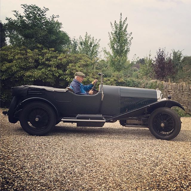 One of our guests is #offtotheraces.  #cotswolds #stay #b&b #race #festivalofmotoring #lotson #neveradullmoment