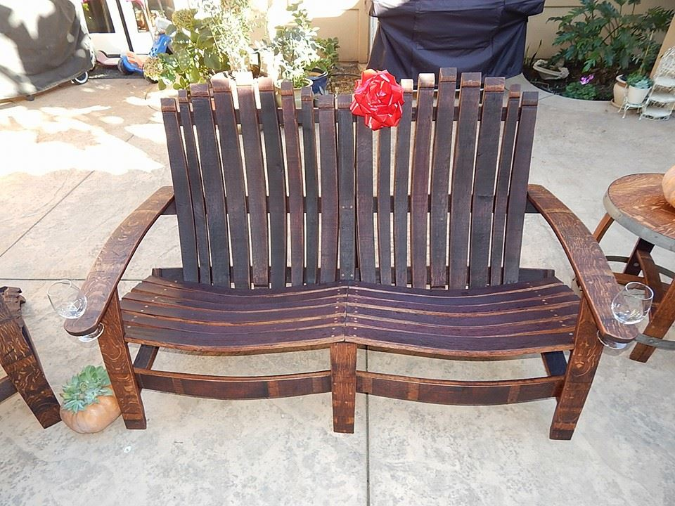 Extra Wide Double Bench - Matching Chairs available