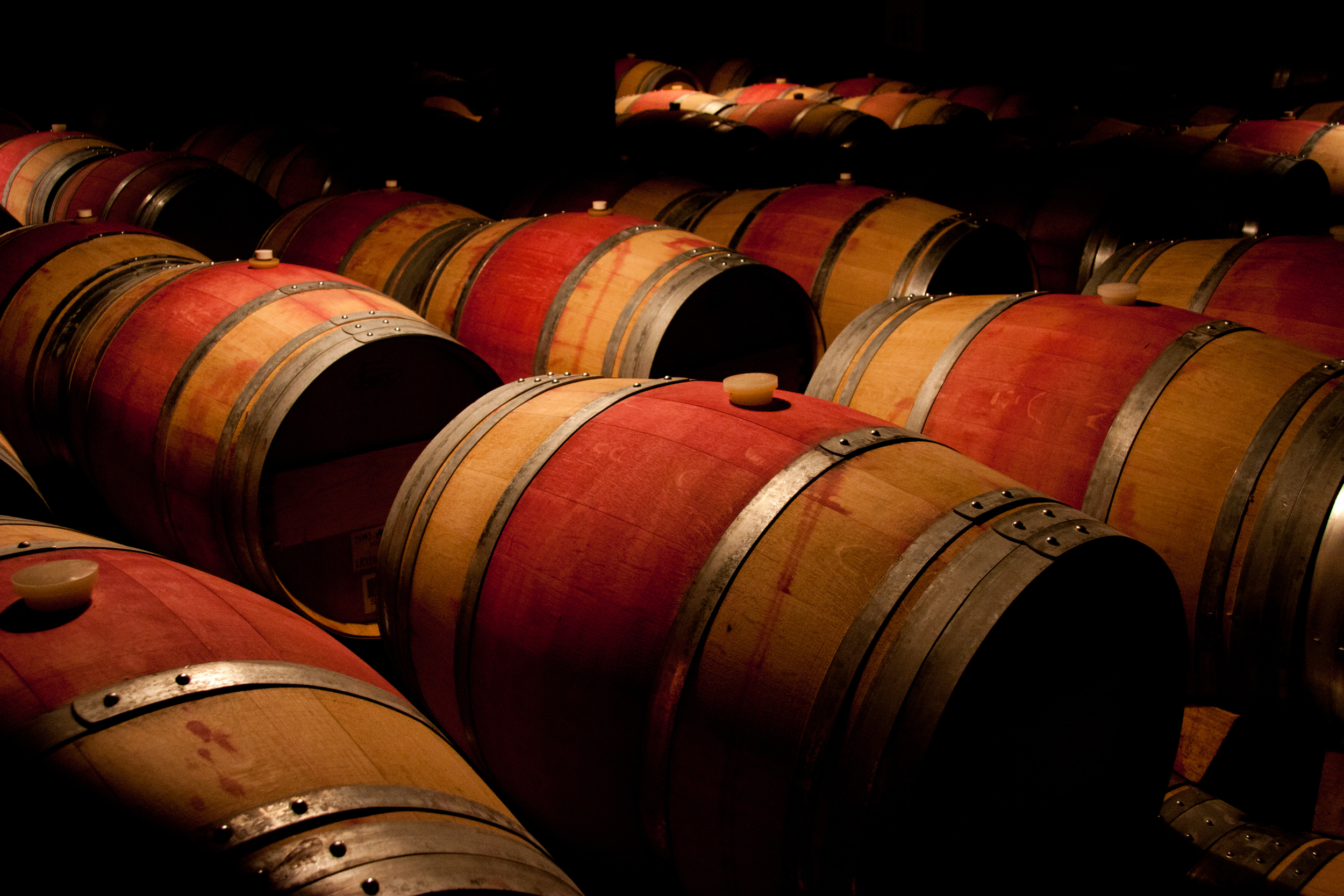 All of our pieces come from fine aged oak wine barrels from the Central Coast