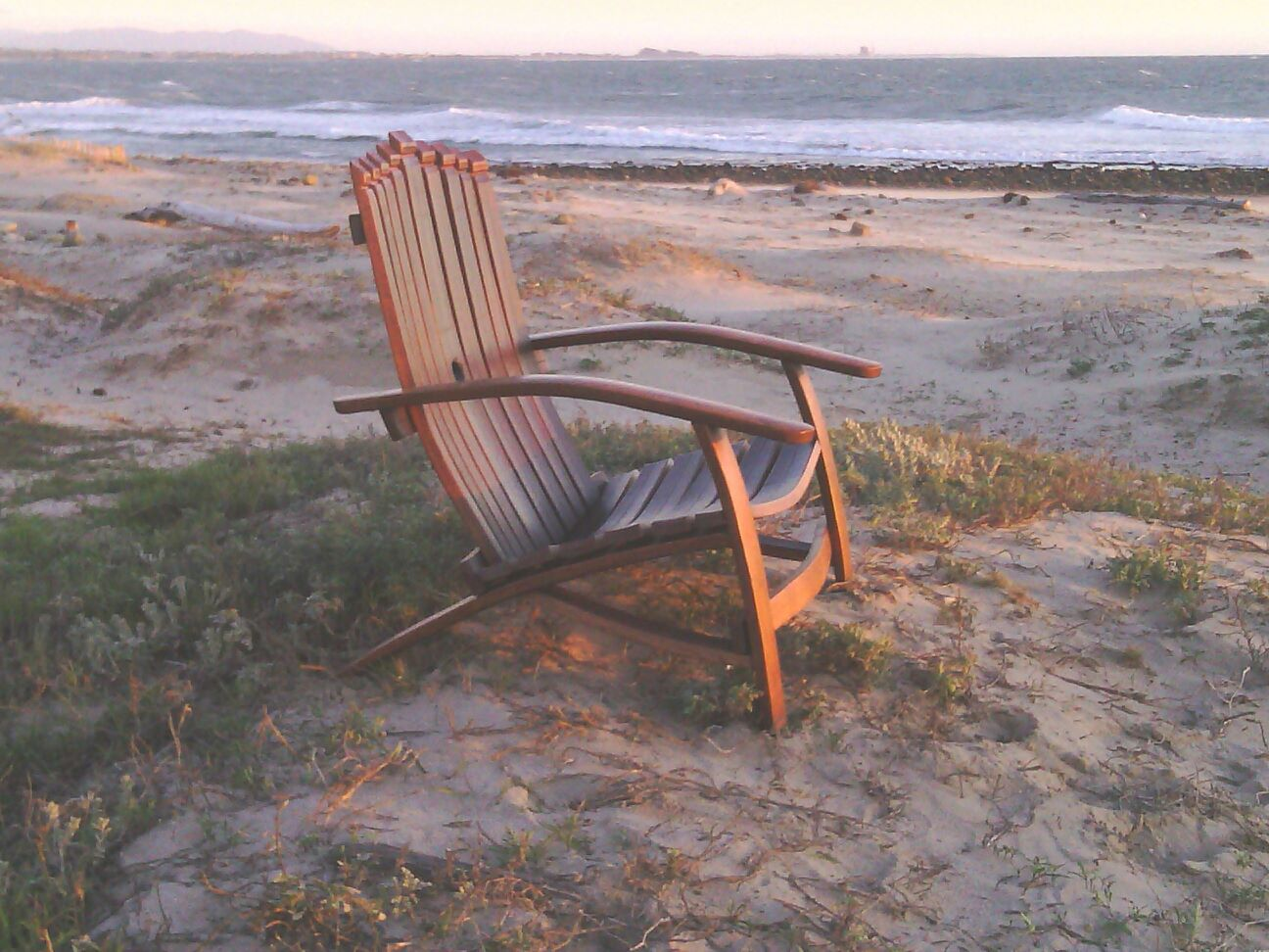 The most comfortable chair to watch the sunset in.