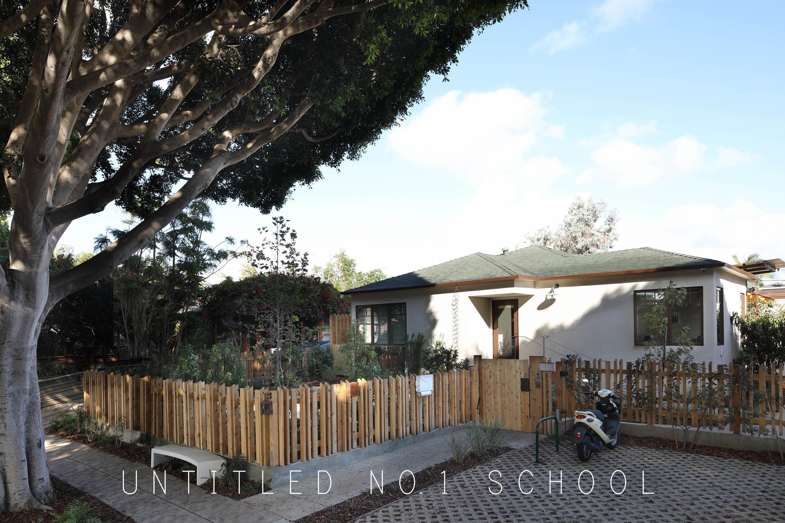 Untitled No. 1 School, Santa Monica, CA