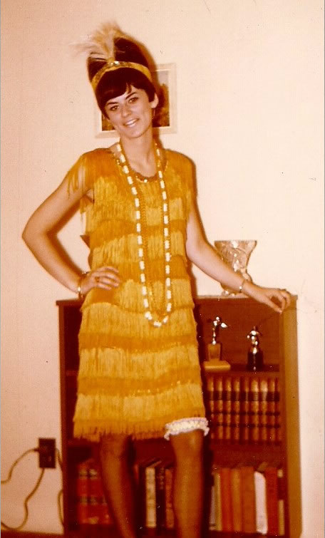 """Age 19 -Halloween – looks like   I'm   start  ing to get some """"  attitude"""""""