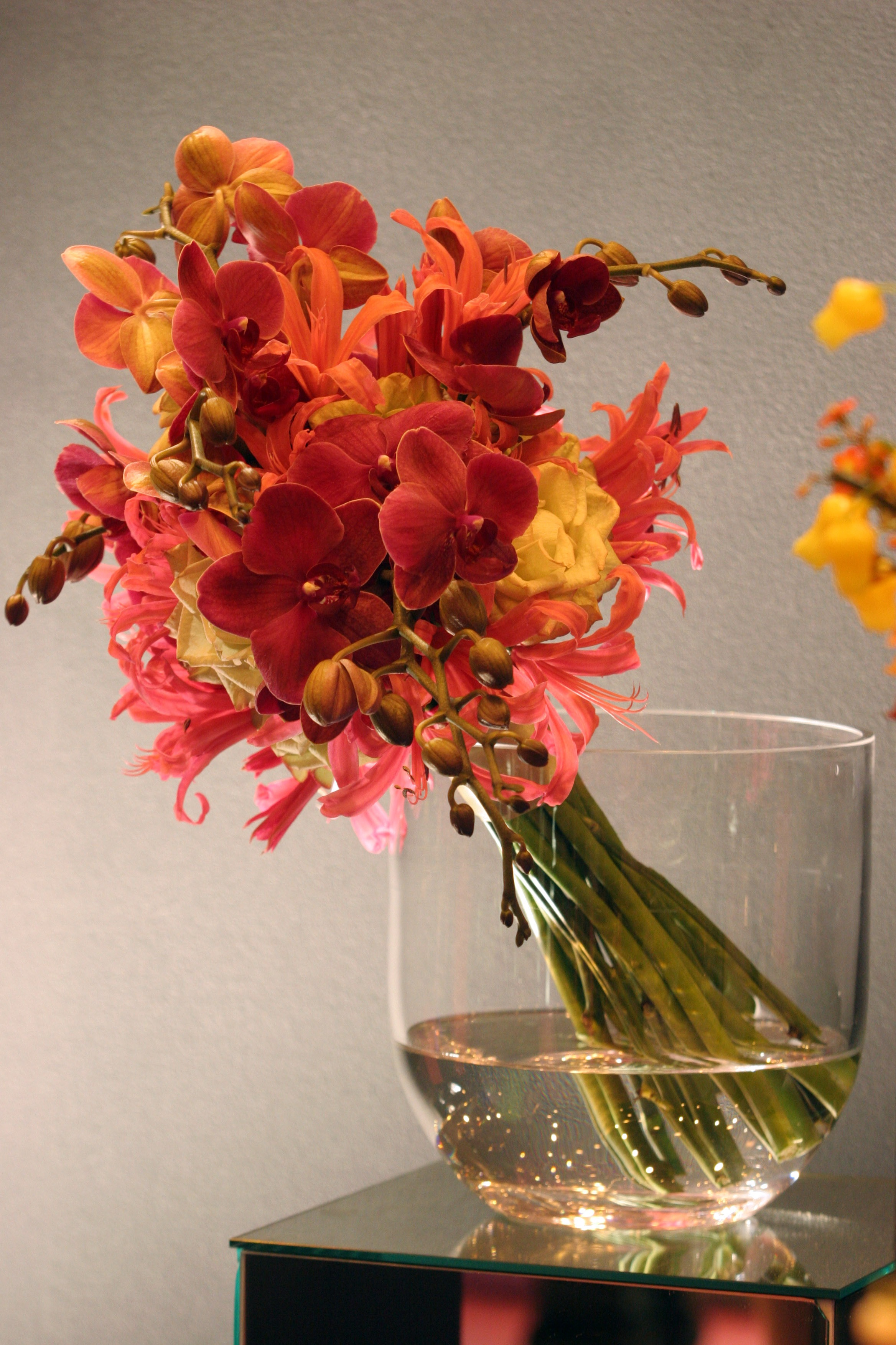 Orchid, nerine and rose bouquet.jpg
