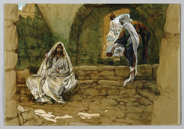 The Woman of Samaria at the Well, James Tissot (1836-1902), between 1886 and 1894 | Wikimedia Commons, Public Doman