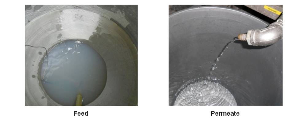 Recovery of Colloidal Particles in Concentrate Stream