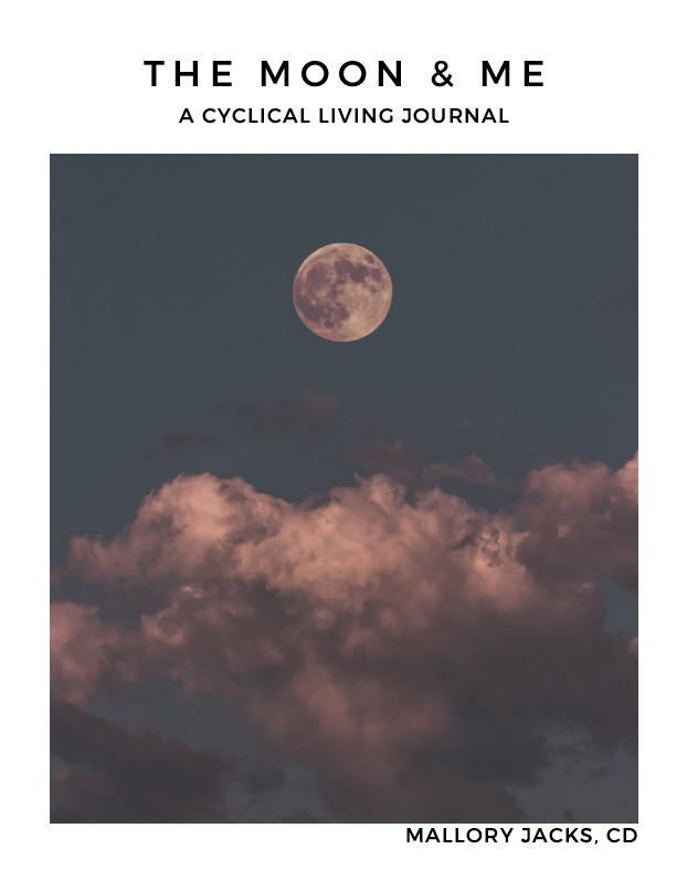 The Moon & Me Journal by Mallory Jacks