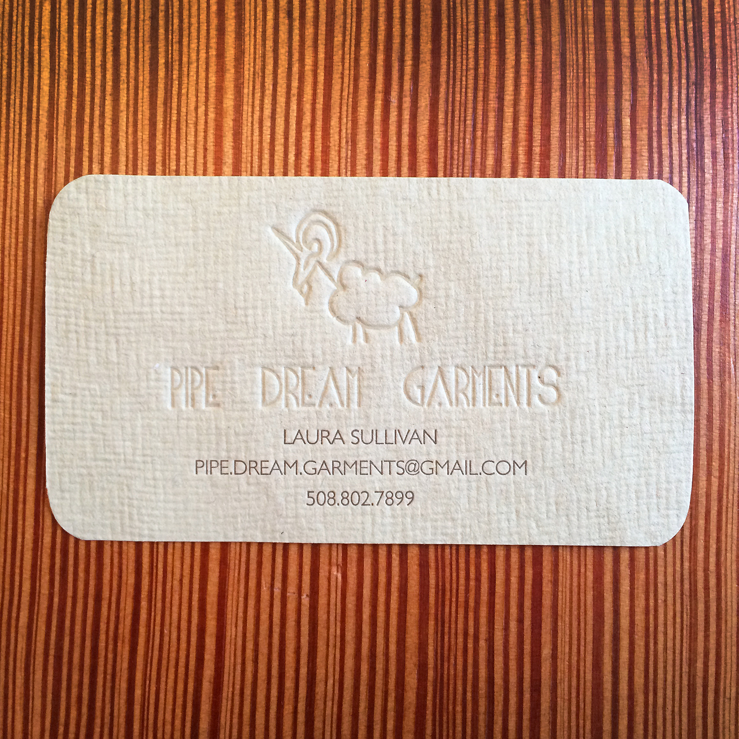 Pipe Dream Garments - Letterpress Business Card.jpg