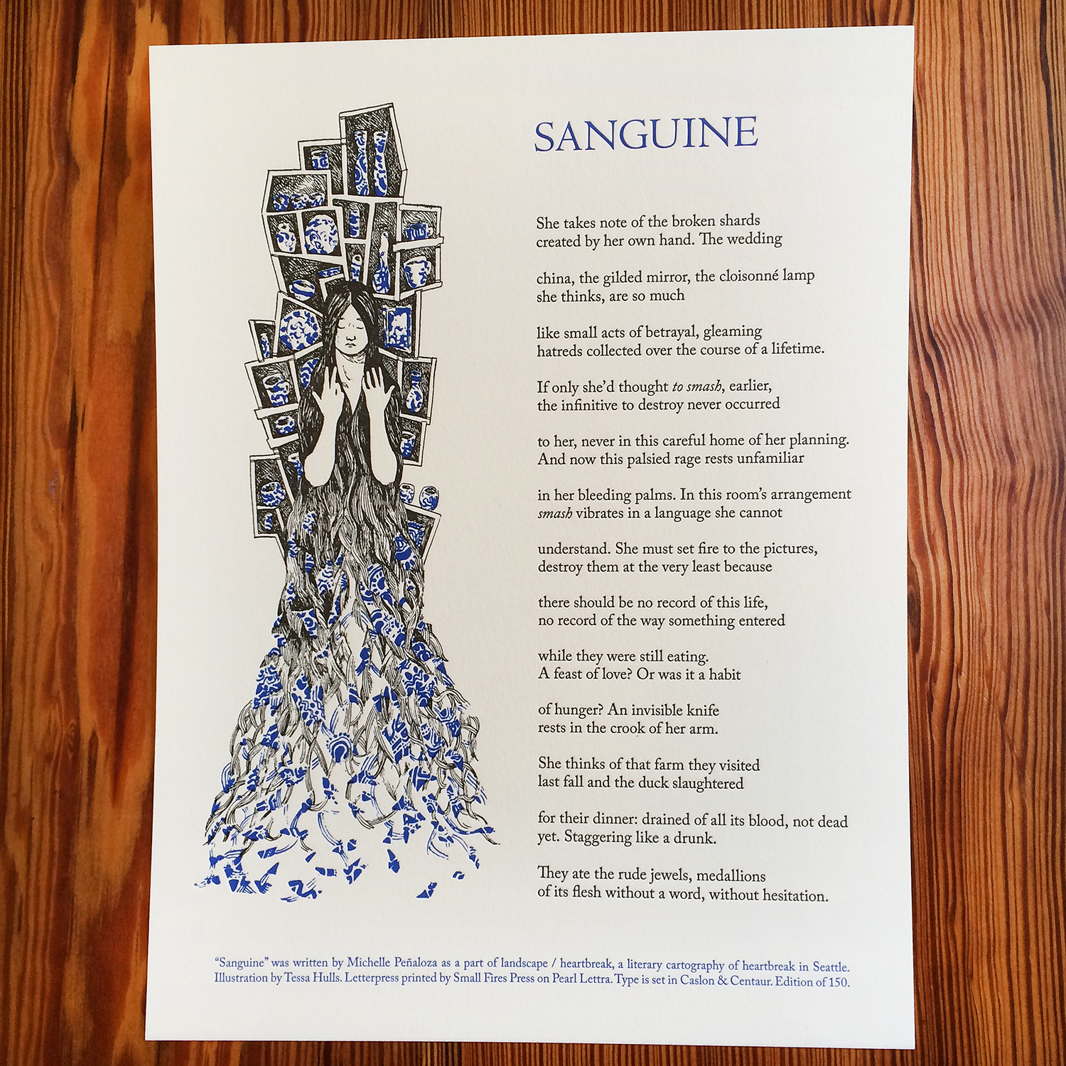 Sanguine - Michelle Penaloza - Letterpress Broadside.jpg