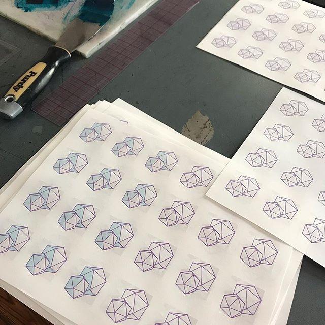 Over half way for the letterpress art for Matchbook 5! Run 12 of 20. #letterpress #poetry #design #matchbook #miniaturebook