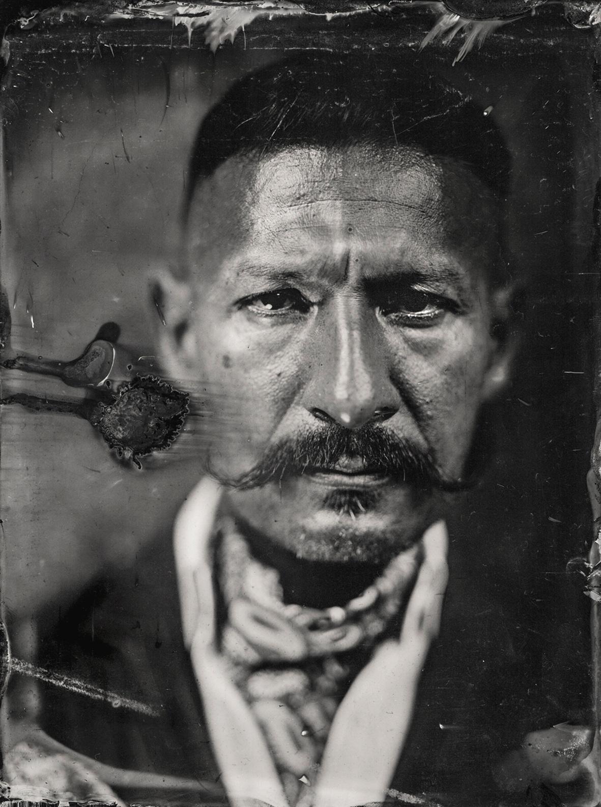 Richard's portrait. London, 2018