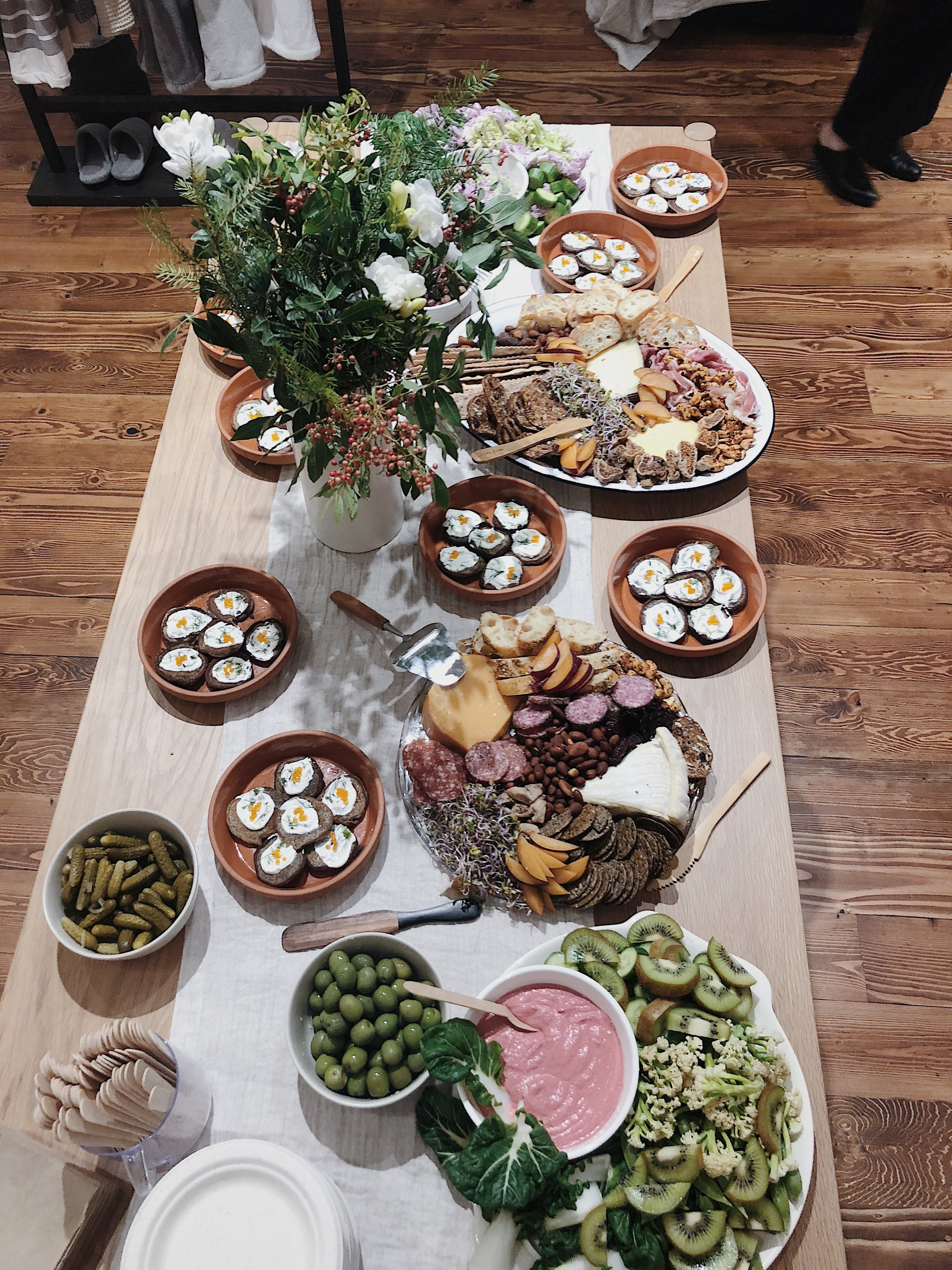 Catering for  Parachute Home,  December 2018
