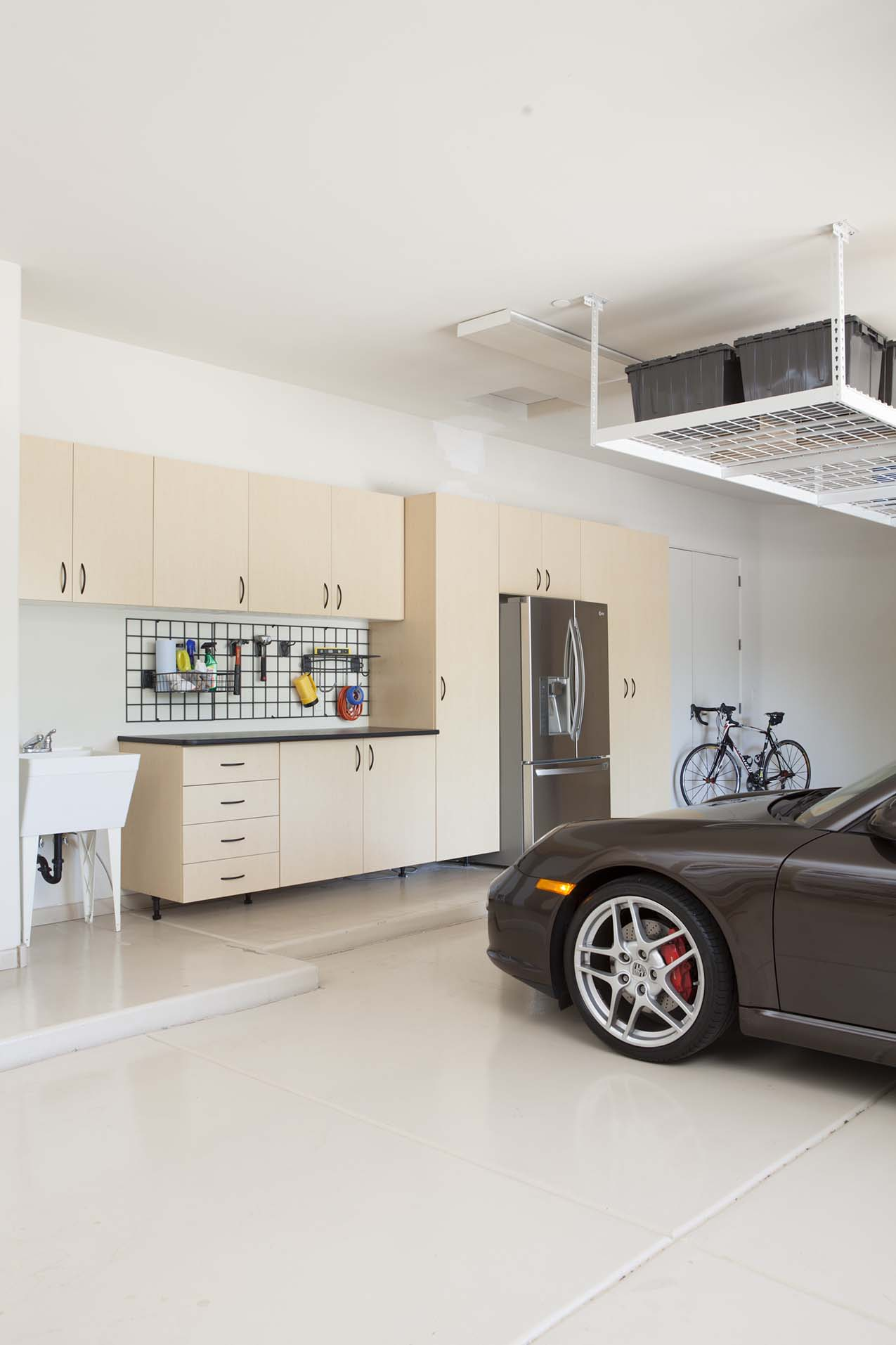 Garage Cabinets and Storage Boxes