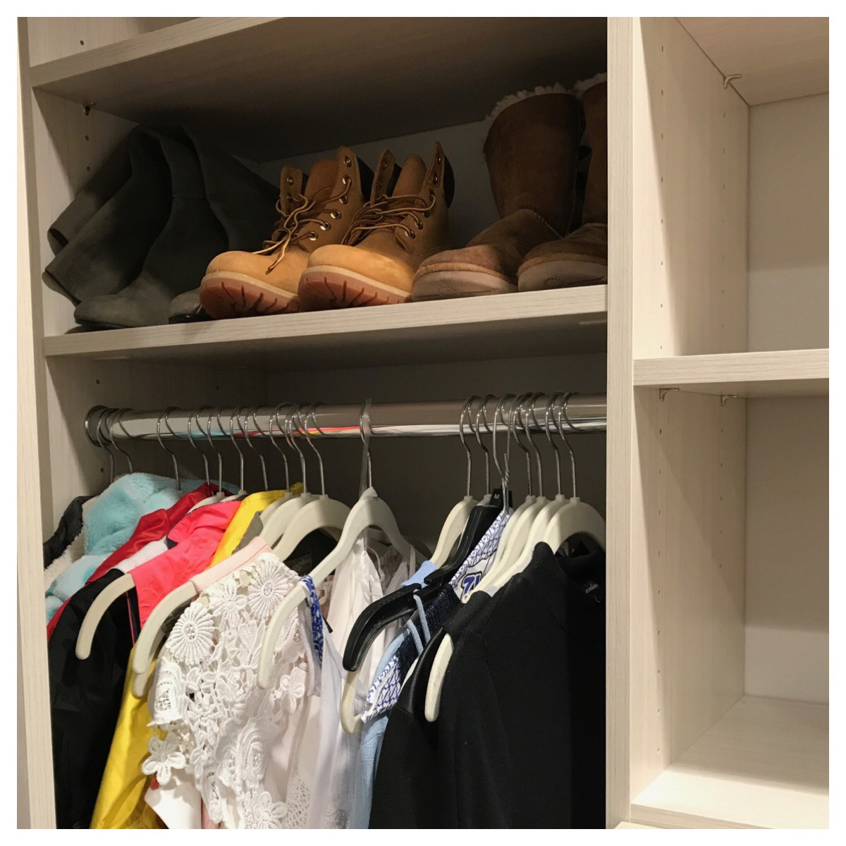 Closet systems give kids and teens a jump-start to an organized life and help them begin each day on the right foot.  Call Closets of Tulsa  today for a FREE consultation and 3-D closet design:  918.609.0214