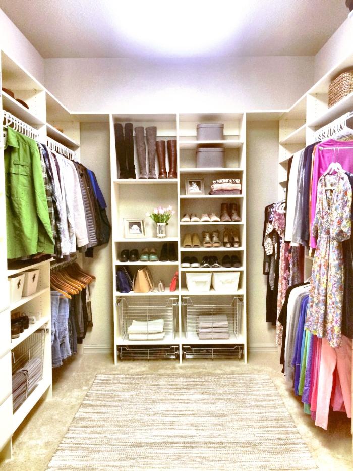 Custom Walk In Closet by Closets of Tulsa
